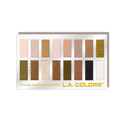 L.A. Colors 16 Color Eyeshadow Palette