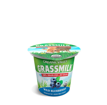 Organic Valley® Blueberry Grassmilk Yogurt