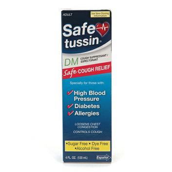 Safe Tussin DM Cough Suppressant/Expectorant