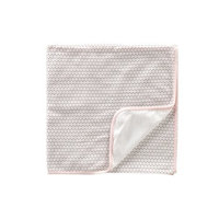 Tea Collection Baby Lotus Blanket, Pearl Pink, 0-6 Months