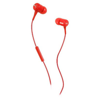 Puma Bread 'N Butter In-Ear Headphones with Mic - Red (PMAD3036)