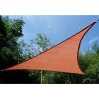 Us Shade Sail San Diego Shade Sail 12' Triangle - Terracotta Rust