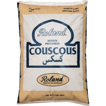 Roland Medium Pre-Cooked Couscous, 11-Pounds Bag