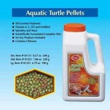 O.S.I. OSI Marine Lab Aquatic Turtle Floating Pellets Fish Food Large 6.79oz