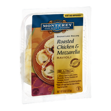 Monterey Gourmet Foods Signature Recipe Ravioli Roasted Chicken & Mozzarella