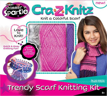 Cra-z-art Cra-Z-Art Shimmer n Sparkle Cra-Z-Knit Scarf Kit