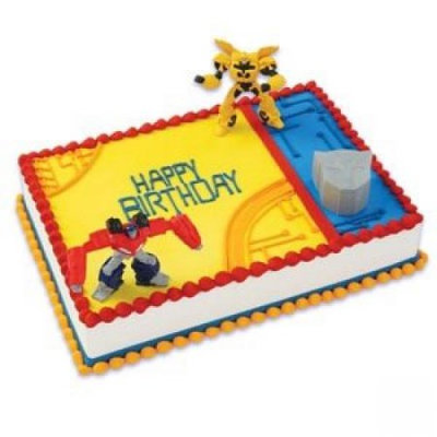 Decopac Inc Transformers Cake Topper Decorating Kit