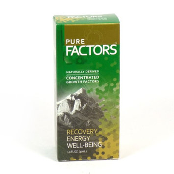 Pure Solutions - Pure Factors Concentrated Growth Factors From Deer Velvet Antler - 1 oz.