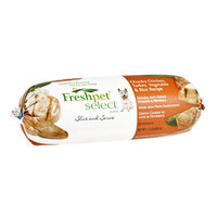 Freshpet Select Chunky Chicken, Vegetable & Rice Recipe Slice and Serve Dog Food