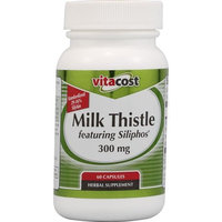Vitacost Brand Vitacost Milk Thistle Featuring Siliphos -- 300 mg - 60 Capsules