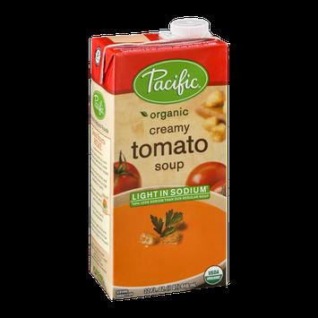 Pacific Organic Light Sodium Creamy Tomato Soup