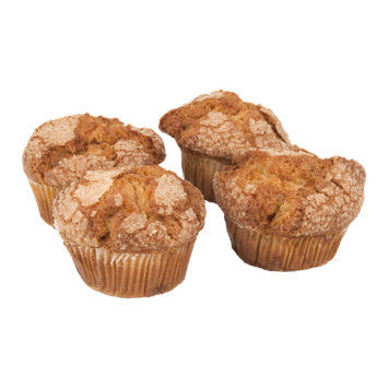 Ahold Cinnamon Chip Muffins - 4 CT