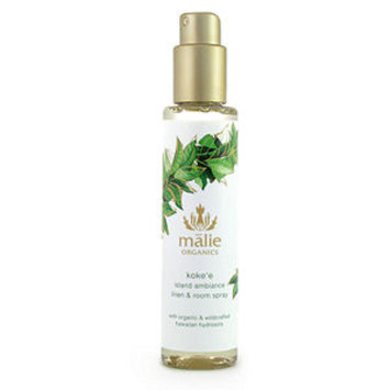 Malie Organics Organic Island Ambiance Linen and Room Spray, Koke'e, 5 oz