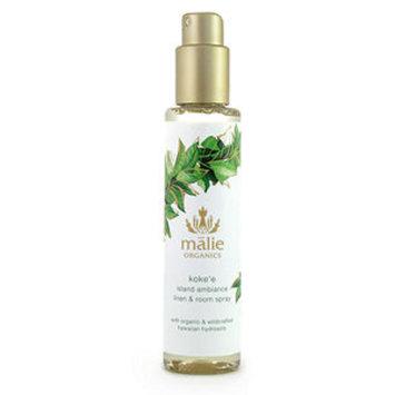 Malie Organics Organic Island Ambiance Linen and Room Spray, Koke'e, 5 oz