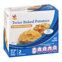 Ahold Twice Baked Potatoes CHeddar Cheese - 2 CT