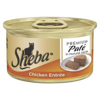 Masterfoods Sheba Premium Pate Wet Cat Food - Chicken Entree (3 oz)
