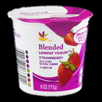 Ahold Blended Lowfat Yogurt Strawberry