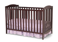 Delta Children Capri 3-in-1 Convertible Crib Finish: Dark Chocolate