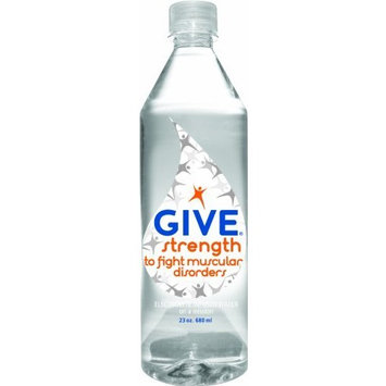 Give Water Give Strength Electrolyte Enhanced, 23-Ounce Bottles (Pack of 12)