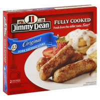 Jimmy Dean Fully Cooked Original Pork Sausage Links 12 ct