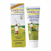 Sunology Natural Sunscreen Cr??me for Kids SPF 50
