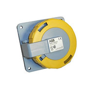 Thomas & Betts ABB Russelstoll ABB330R4W IEC Receptacle 30A 2 Pole 3 Wire 125V Pin & Sleeve