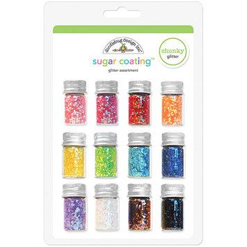 Notions Marketing Doodlebug 5 gr. Sugar Coating Chunky Glitter - 12PK