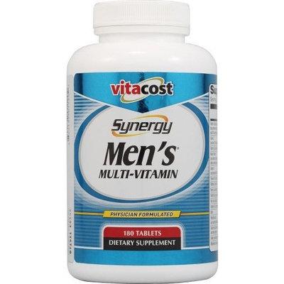 Vitacost Brand Vitacost Synergy Men's Multi-Vitamin -- 180 Tablets