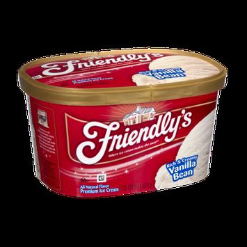 Friendly's Rich & Creamy Vanilla Bean Premium Ice Cream