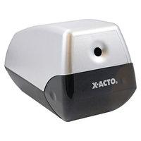 X-ACTO - Model 1900 Desktop Electric Pencil Sharpener - Silver/Black