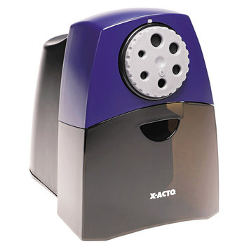 X-Acto Teacher Pro Electric Pencil Sharpener, Black