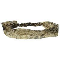 Women's Wide Snake Print Chiffon Head Wrap - Brown (5
