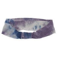 Women's Tie Dye Jersey Cinch Head Wrap - Purple