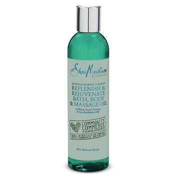 SheaMoisture Zanzibar Marine Complex Replenish & Rejuvenate Bath, Body & Massage Oil