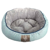 Wild Olive Oval Bolster Pet Bed - 18