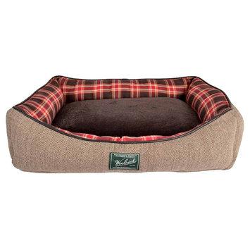 Woolrich Rectangular Cuddler Pet Bed - 23