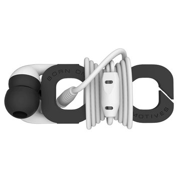Boom The Wrap In-Ear Headphones - White (Wrwh-A)