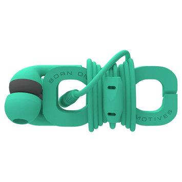 Boom The Wrap In-Ear Headphones - Green (Wrmt-A)