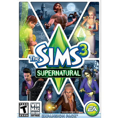 Electronic Arts The Sims 3 Supernatural - Electronic Software Download (PC/Mac)