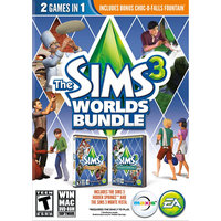 Electronic Arts The Sims 3 Worlds Bundle (Win/Mac)