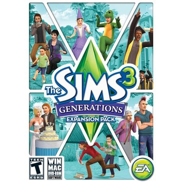 Electronic Arts The Sims 3 Generations - Electronic Software Download (PC/Mac)