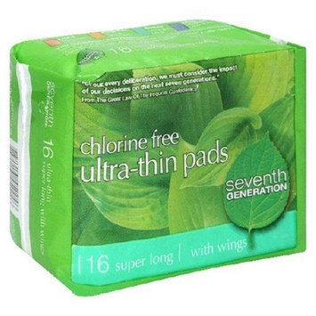 Seventh Generation Chlorine Free Ultra-Thin Pads