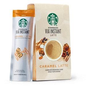 STARBUCKS® Caramel Latte VIA® Instant