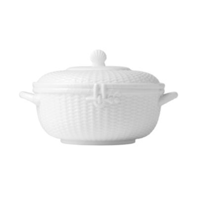 Wedgwood Dinnerware, Nantucket Basket Covered Vegetable Bowl