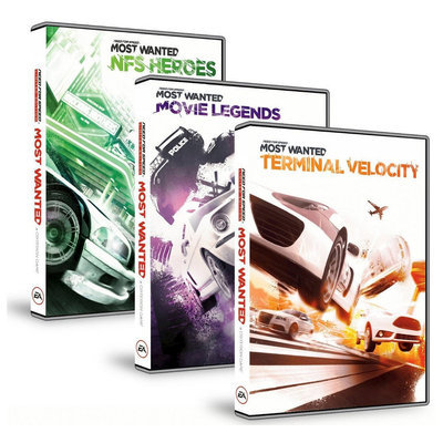 Electronic Arts Need For Speed Most Wanted: Complete DLC Bundle - Electronic Software Download (PC)