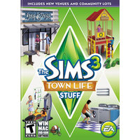 Electronic Arts The Sims 3: Town Life Stuff (Win/Mac)