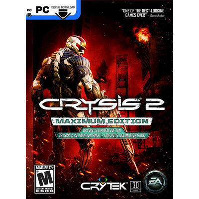 Electronic Arts Crysis 2: Maximum Edition - Electronic Software Download (PC)