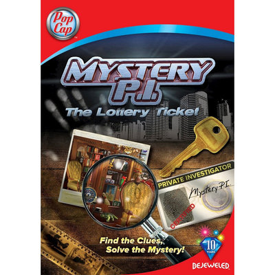 Electronic Arts Mystery P.I. The Lottery Ticket - Electronic Software Download (PC)