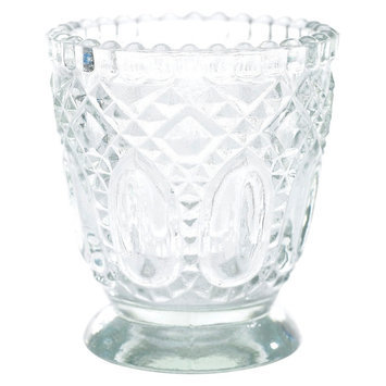 Accent Decor Clear Accent Cndl HDR SET of 6