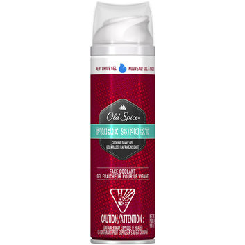 Old Spice Pure Sport Scent Cooling Shave Gel
